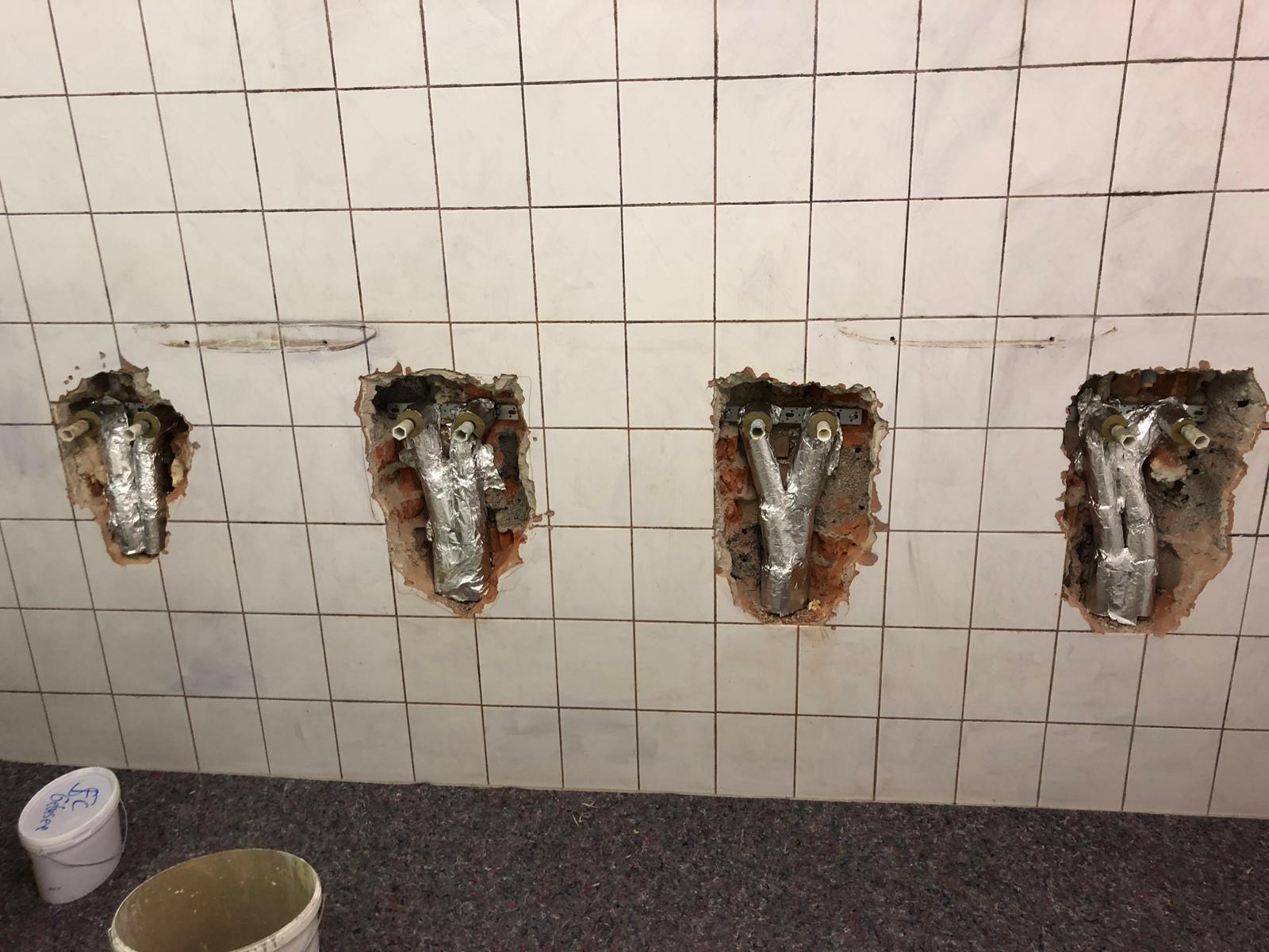 4 neue Duschplätze