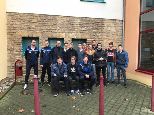 A Jugend beendet Trainingslager in Bad Blankenburg
